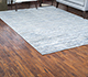Jaipur Rugs - Hand Knotted Wool and Bamboo Silk Grey and Black SRB-712 Area Rug Roomscene shot - RUG1074100