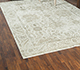 Jaipur Rugs - Hand Knotted Wool and Bamboo Silk Ivory SRB-771 Area Rug Roomscene shot - RUG1084292