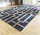 Jaipur Rugs - Hand Tufted Wool and Viscose Blue TAQ-229 Area Rug Roomscene shot - RUG1106856