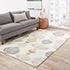 Jaipur Rugs - Hand Tufted Wool and Viscose Ivory TAQ-243 Area Rug Roomscene shot - RUG1038186