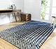 Jaipur Rugs - Hand Tufted Wool and Viscose Blue TAQ-400 Area Rug Roomscene shot - RUG1077471