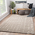 Jaipur Rugs - Hand Tufted Wool and Viscose Grey and Black TAQ-4062 Area Rug Roomscene shot - RUG1077080
