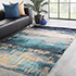 Jaipur Rugs - Hand Tufted Wool and Viscose Grey and Black TAQ-4304 Area Rug Roomscene shot - RUG1083125