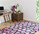 Jaipur Rugs - Hand Tufted Wool and Viscose Blue TAQ-436 Area Rug Roomscene shot - RUG1067109