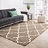 Jaipur Rugs - Hand Tufted Wool Beige and Brown TLT-655 Area Rug Roomscene shot - RUG1035148