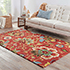 Jaipur Rugs - Hand Tufted Wool Red and Orange TPL-55 Area Rug Roomscene shot - RUG1032081