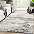 Jaipur Rugs - Hand Tufted Viscose Grey and Black TPV-387 Area Rug Roomscene shot - RUG1080992