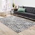 Jaipur Rugs - Hand Tufted Wool and Viscose Ivory TRA-634 Area Rug Roomscene shot - RUG1092524