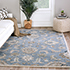 Jaipur Rugs - Hand Tufted Wool Blue TRC-626 Area Rug Roomscene shot - RUG1080387