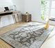 Jaipur Rugs - Hand Tufted Wool Grey and Black TWL-02 Area Rug Roomscene shot - RUG1064395