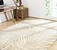 Jaipur Rugs - Tibetan Wool and Bamboo Silk Beige and Brown YNB-06 Area Rug Roomscene shot - RUG1055015