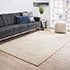 Jaipur Rugs - Hand Knotted Wool Beige and Brown YRS-703 Area Rug Roomscene shot - RUG1058894