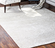Jaipur Rugs - Hand Knotted Wool and Silk Ivory QM-951 Area Rug Roomscene shot - RUG1076795